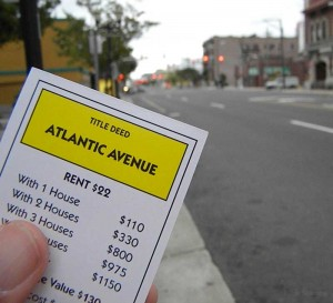 Atlantic Ave, Atlantic City Monopoly tour